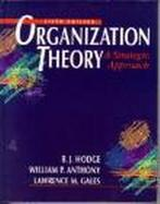 Organization Theory: A Strategic Approach cover