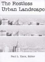 The Restless Urban Landscape cover