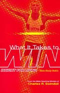 What It Takes to Win cover