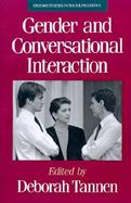 Gender and Conversational Interaction cover