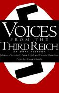 Voices from the Third Reich An Oral History cover