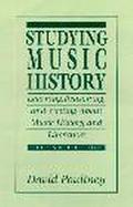 Studying Music History Learning, Reasoning, and Writing About Music History and Literature cover