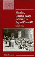 Education, Economic Change and Society in England 1780-1870 cover