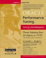 Oracle Performance Tuning Tips & Techniques cover