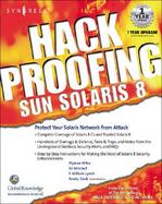 Hack Proofing Sun Solaris 8 cover