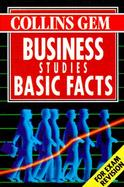 Business Studies Basic Facts cover