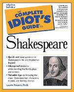 The Complete Idiot's Guide to Shakespeare cover