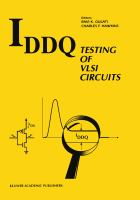 Iddq Testing of Vlsi Circuits cover