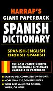 Harrap's Giant Paperback Spanish Dictionary cover