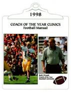 football manual: 1998 coach of the year clinics cover