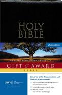 Holy Bible Gift & Award New International Version  Burgundy Leather cover