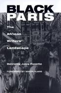 Black Paris The African Writers' Landscape cover