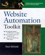 Website Automation Toolkit with CDROM cover