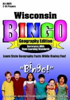 Wisconsin Bingo Geography Edition cover