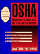 OSHA Quick Guide for Resdential Builders and Contractors cover