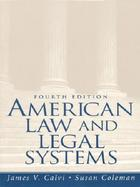 American Law and Legal Systems cover