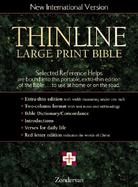 Thinline Bible New International Version Burgundy Bonded Leather cover