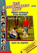 Kristy Thomas, Dog Trainer cover