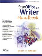 StarOffice 5.2 Writer Handbook cover