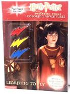 Harry Potter Learning to Fly Coloring/Activity Book with Crayons cover