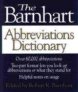 The Barnhart Abbreviations Dictionary cover