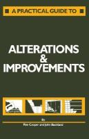 A Practical Guide to Alterations and Improvements cover