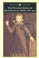 The Penguin Book of Renaissance Verse cover