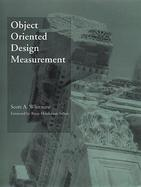 Object Oriented Design Measurement cover