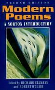 Modern Poems A Norton Introduction cover