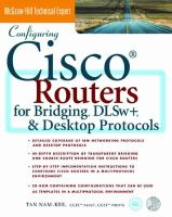 Configuring Cisco Routers for Bridging Dlws+ and Desktop Protocols cover