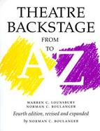Theatre Backstage from A to Z cover