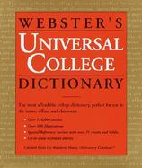 Webster's Universal College Dictionary cover