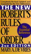 The New Robert's Rules of Order cover