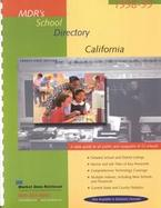 Mdr's School Directory California 1998-99 cover