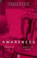Awareness What It Is, What It Does cover