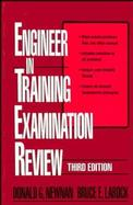 Engineer in Training Examination Review cover