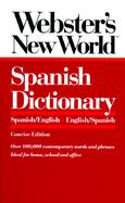 Webster's New World<sup><small>TM</small></sup> Spanish Dictionary , Concise Edition cover