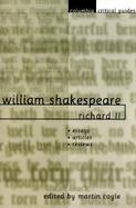 William Shakespeare Richard II cover
