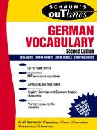 Schaum's Outline of German Vocabulary cover