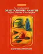 Object Oriented Analysis cover