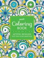 Posh Coloring Book: Artful Designs for Fun and Relaxation cover