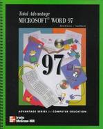 Total Advantage Microsoft Word 97 cover