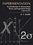 Experimentation An Introduction to Measurement Theory and Experiment Design cover