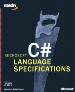 Microsoft C# Language Specifications cover