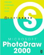 Microsoft Photodraw 2000 cover