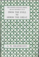 From the Exile to Herod cover