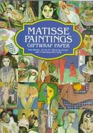 Matisse Paintings Giftwrap Paper cover