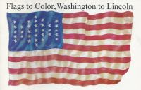 Flags to Color, Washington to Lincoln cover