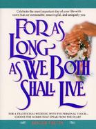 For As Long As We Both Shall Live cover