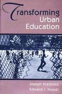 Transforming Urban Education cover
